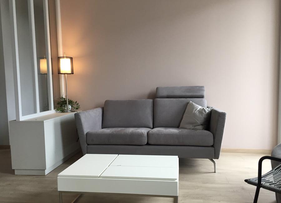 renovation et décoration d'un appartement cosy de 70m2 par Etymodéco, Décoratrice à Saint Louis en Alsace