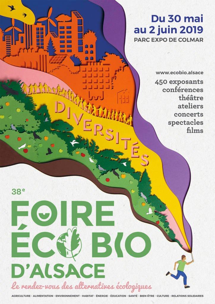 Etymodéco sur la Foire Ecobio de Colmar du 30 mai au 2 juin 2019