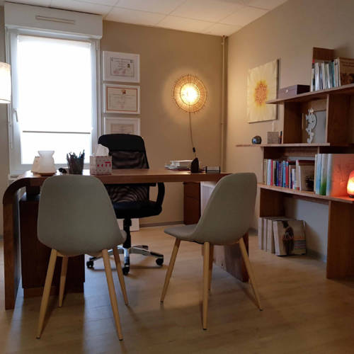 Un Cabinet de médecine chinoise à Sundhoffen par Etymodéco, Décoratrice à Saint Louis en Alsace : le cabinet