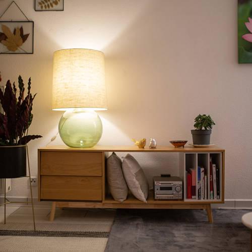Un intérieur Cocon et Ressourçant par Etymodeco, Décoratrice d'intérieur et Expert Feng Shui à Saint Louis et Mulhouse : le meuble Hi-Fi